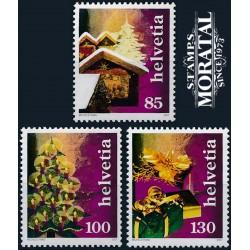 2007 Switzerland Sc 1292/1294 Chistmas  **MNH Very Nice, Mint Never Hinged?  (Scott)
