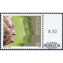 2008 Switzerland Sc 1296 A. von Haller  **MNH Very Nice, Mint Never Hinged?  (Scott)