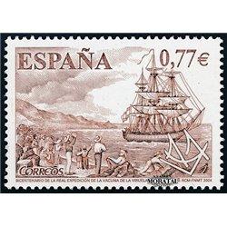 2004 Espagne 3710 Vaccin contre la variole  **MNH TTB Très Beau  (Yvert&Tellier)
