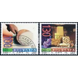 2004 Switzerland Sc 1189/1190 Chessemaking  (o) Used, Nice  (Scott)