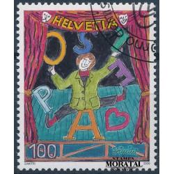 2006 Switzerland Sc 1246 Dimitri the Clown  (o) Used, Nice  (Scott)