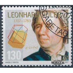 2007 Switzerland Sc 1257 Leonhard Euler  (o) Used, Nice  (Scott)