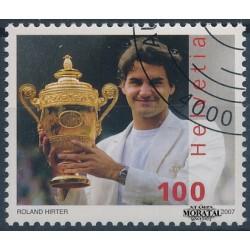 2007 Switzerland Sc 1266 Sport. Tennis. Roger Federer  (o) Used, Nice  (Scott)