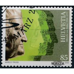 2008 Switzerland Sc 1296 A. von Haller  (o) Used, Nice  (Scott)