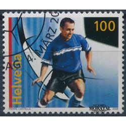 2008 Switzerland Sc 1299 Men's Soccer  (o) Used, Nice  (Scott)