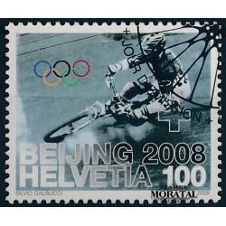 2008 Switzerland Sc 0 Beijing Summer Olympic Games  (o) Used, Nice  (Scott)