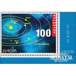 2009 Switzerland Sc 0 09 Europe. Astronomy  **MNH Very Nice, Mint Never Hinged?  (Scott)