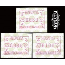 1995 Switzerland Sc 0 Basler Taube'95  **MNH Very Nice, Mint Never Hinged?  (Scott)