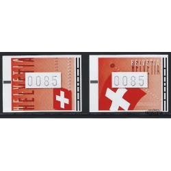 2005 Switzerland Sc 0 Switzerland Flags  **MNH Very Nice, Mint Never Hinged?  (Scott)