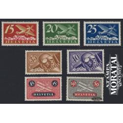 1923 Switzerland Sc C3/C9 Air Post  **MNH Very Nice, Mint Never Hinged?  (Scott)