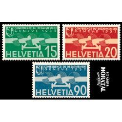 1932 Switzerland Sc C16/C18 Disarmament Conference  **MNH Very Nice, Mint Never Hinged?  (Scott)