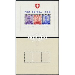 1936 Switzerland Sc B60 Honors Stefano Franscini  **MNH Very Nice, Mint Never Hinged?  (Scott)