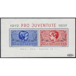1937 Switzerland Sc B89 Pro Juventute 37  **MNH Very Nice, Mint Never Hinged?  (Scott)