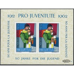1962 Switzerland Sc B323 Pro Juventute 62  *MH Nice, Mint Hinged  (Scott)