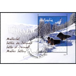 2013 Switzerland Sc 1502 Zermatt  (o) Used, Nice  (Scott)