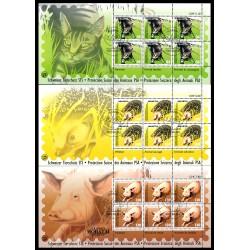 2004 Switzerland Sc 1191/1193 Animal Protection  (o) Used, Nice  (Scott)
