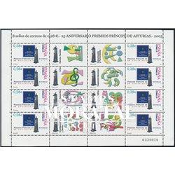 2005 España 4192 MP 86 Premios Ppe. Asturias  **MNH Perfecto Estado  (Edifil)