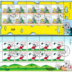 2005 Switzerland Sc 1203/1204 Cartoon Mouse  (o) Used, Nice  (Scott)