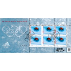 2005 Switzerland Sc 1223 Winter Olympics Turin  (o) Used, Nice  (Scott)