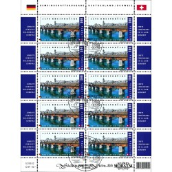 2008 Switzerland Sc 0 Wooden bridge over the river Rhine  (o) Used, Nice  (Scott)
