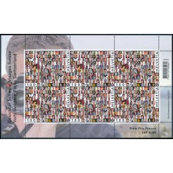 2013 Switzerland Sc 1483 Switzerland faces  **MNH Very Nice, Mint Never Hinged?  (Scott)