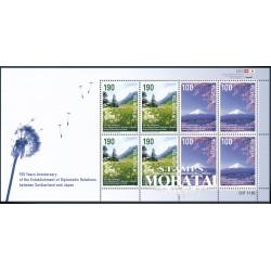 2014 Switzerland Sc 1507/1508 Japan-Switzerland  **MNH Very Nice, Mint Never Hinged?  (Scott)