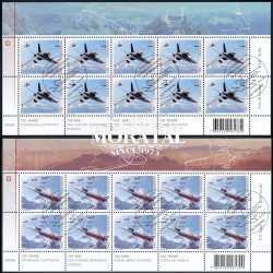2014 Switzerland Sc 1512/1513 Air Forces  (o) Used, Nice  (Scott)