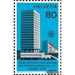 1973 Switzerland Sc 0 U.I.T. Building  **MNH Very Nice, Mint Never Hinged?  (Scott)