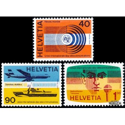 1976 Switzerland Sc 0 U.I.T.  **MNH Very Nice, Mint Never Hinged?  (Scott)