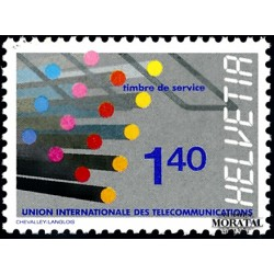 1988 Switzerland Sc 0 U.I.T.  **MNH Very Nice, Mint Never Hinged?  (Scott)
