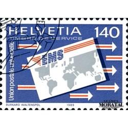 1989 Switzerland Sc 0 U.P.U.  (o) Used, Nice  (Scott)