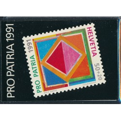 1991 Switzerland Sc Booklet Pro Patria 91  (o) Used, Nice  (Scott)