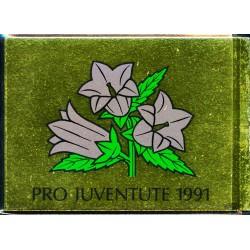 1991 Switzerland Sc Booklet Pro Juventute 91  (o) Used, Nice  (Scott)