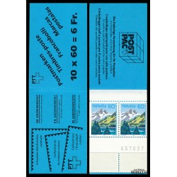 1993 Switzerland Sc Booklet Mountain Lakes  **MNH Very Nice, Mint Never Hinged?  (Scott)