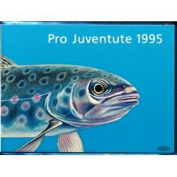 1995 Switzerland Sc Booklet Pro Juventute95  (o) Used, Nice  (Scott)