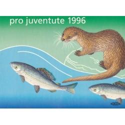1996 Switzerland Sc Booklet Pro Juventute 96  (o) Used, Nice  (Scott)