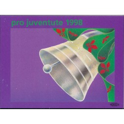 1998 Switzerland Sc Booklet Pro Juventute 98  (o) Used, Nice  (Scott)