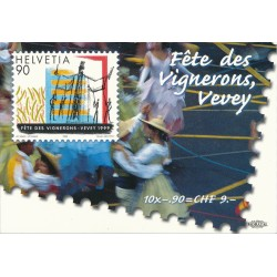 1999 Switzerland Sc Booklet Anniversaries and Events  (o) Used, Nice  (Scott)