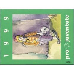 1999 Switzerland Sc Booklet Pro Juventute 99  (o) Used, Nice  (Scott)