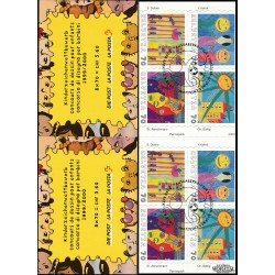 2000 Switzerland Sc 1083a Children's Stamp Design - Booklet  (o) Used, Nice  (Scott)
