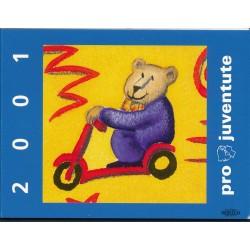 2001 Switzerland Sc Booklet Pro Juventute 01  (o) Used, Nice  (Scott)