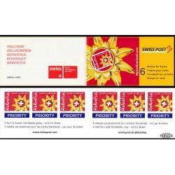 2002 Switzerland Sc 1136a Emblem Switzerland Tourism - Boklet  **MNH Very Nice, Mint Never Hinged?  (Scott)
