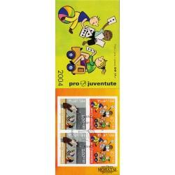 2004 Switzerland Sc Booklet Pro Juventute 04  (o) Used, Nice  (Scott)