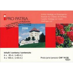 2006 Switzerland Sc Booklet Pro Patria 06  (o) Used, Nice  (Scott)
