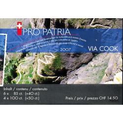 2007 Switzerland Sc B709a Pro Patria 07  (o) Used, Nice  (Scott)