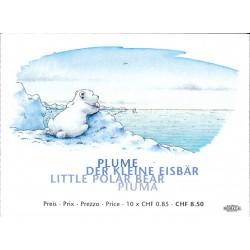 2008 Switzerland Sc 1297a The Little Polar Bear - Booklet  **MNH Very Nice, Mint Never Hinged?  (Scott)