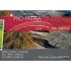2008 Switzerland Sc 0 Pro Patria 08  (o) Used, Nice  (Scott)