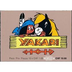 2012 Switzerland Sc 0 Comic. Indian Yakari  (o) Used, Nice  (Scott)