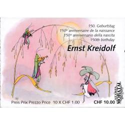 2013 Switzerland Sc 0 Ernest Kreidolf  (o) Used, Nice  (Scott)