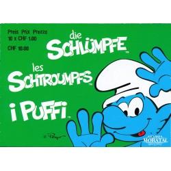 2013 Switzerland Sc 0 The Smurfs  **MNH Very Nice, Mint Never Hinged?  (Scott)